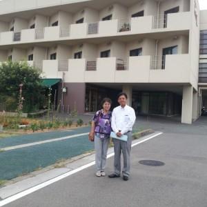 【宮内視察シリーズ 4】 我が街の介護施設を見学、勉強しています