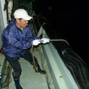 漁を体験 -宗像市沖にて、まき網漁を体験-