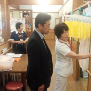 地域包括ケアシステムの勉強のため福岡聖恵病院を視察
