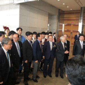 「日韓交流まつり」に出席しました